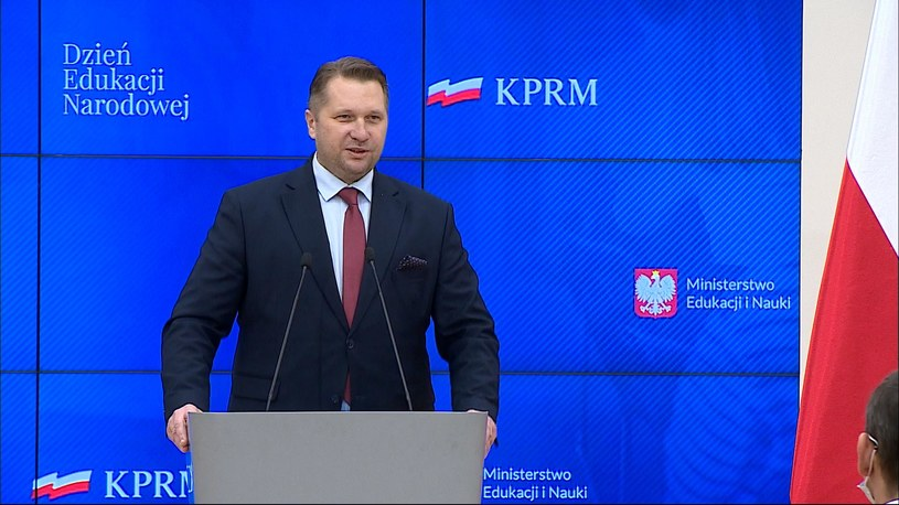 Minister edukacji i nauki Przemysław Czarnek /Polsat News