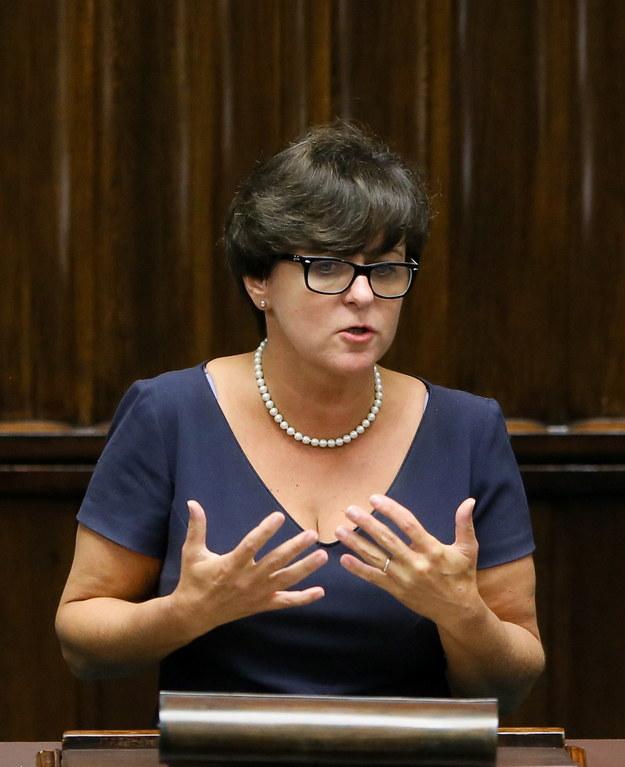 Minister edukacji Joanna Kluzik-Rostkowska /Paweł Supernak /PAP