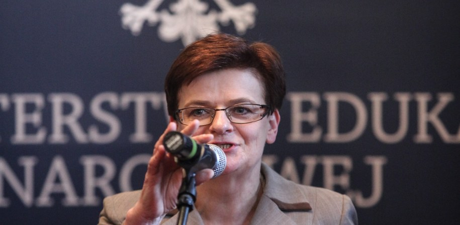 Minister edukacji Krystyna Szumilas /Jakub Kamiński   /PAP