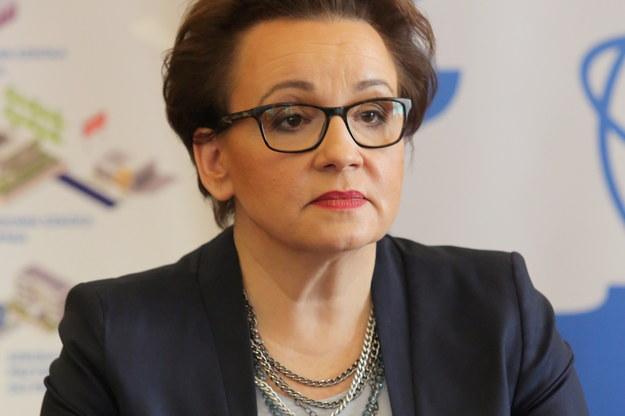 Minister edukacji narodowej Anna Zalewska /Tomasz Waszczuk /PAP