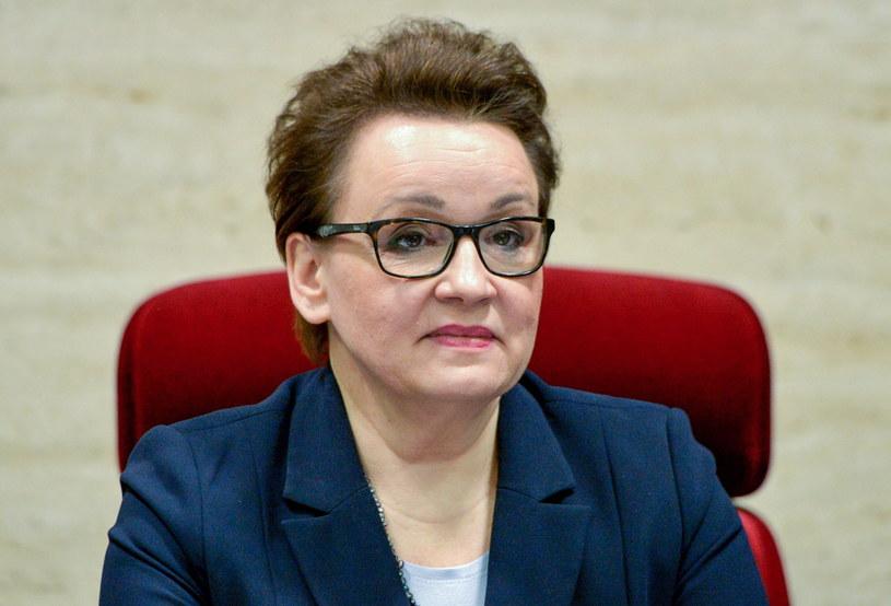 Minister edukacji narodowej Anna Zalewska /Darek Delmanowicz /PAP