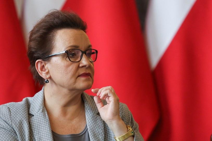 Minister Edukacji Narodowej Anna Zalewska /Dominik Gajda /Reporter