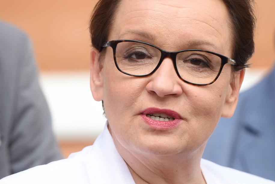 Minister edukacji narodowej Anna Zalewska /Roman Jocher    /PAP