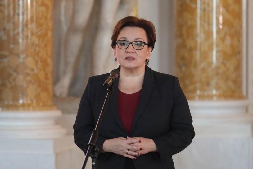 Minister edukacji narodowej Anna Zalewska /Paweł Supernak /PAP