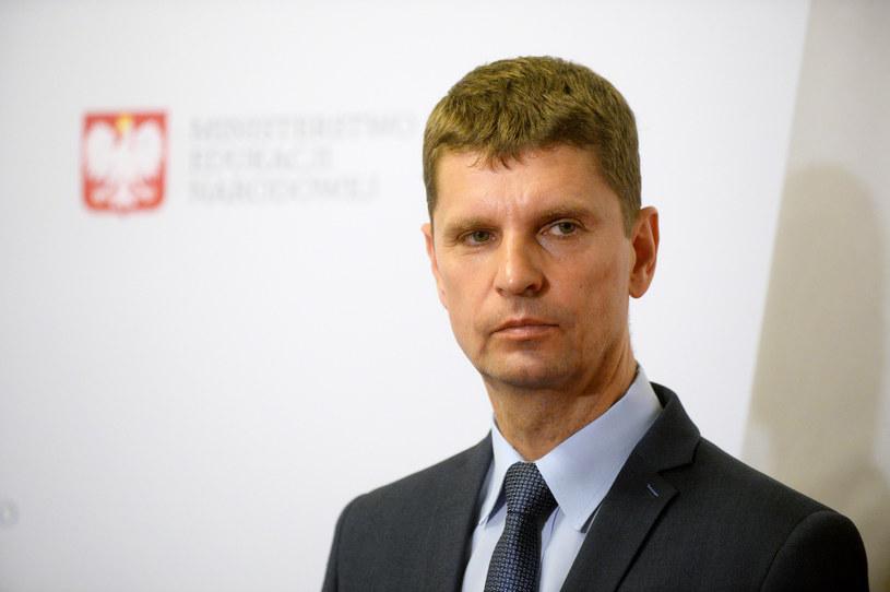 Minister edukacji narodowej Dariusz Piontkowski /Jan Bielecki /East News