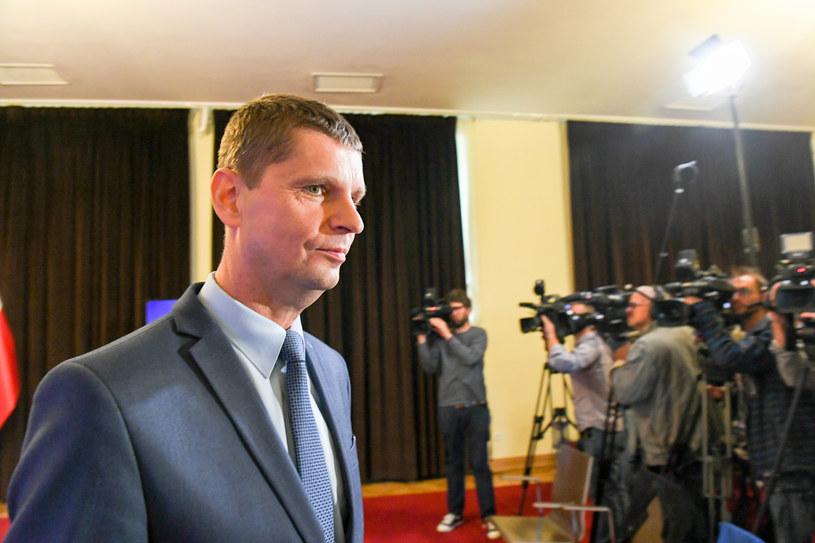 Minister edukacji narodowej Dariusz Piontkowski /Jacek Dominski/REPORTER /Reporter