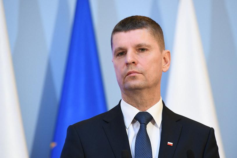 Minister edukacji narodowej Dariusz Piontkowski /Rafal Oleksiewicz/REPORTER /Reporter