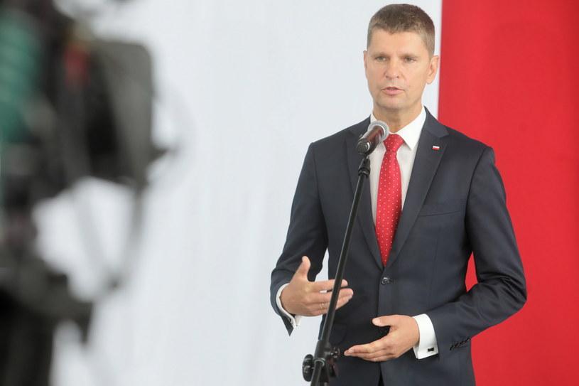 Minister edukacji narodowej Dariusz Piontkowski / Artur Reszko    /PAP