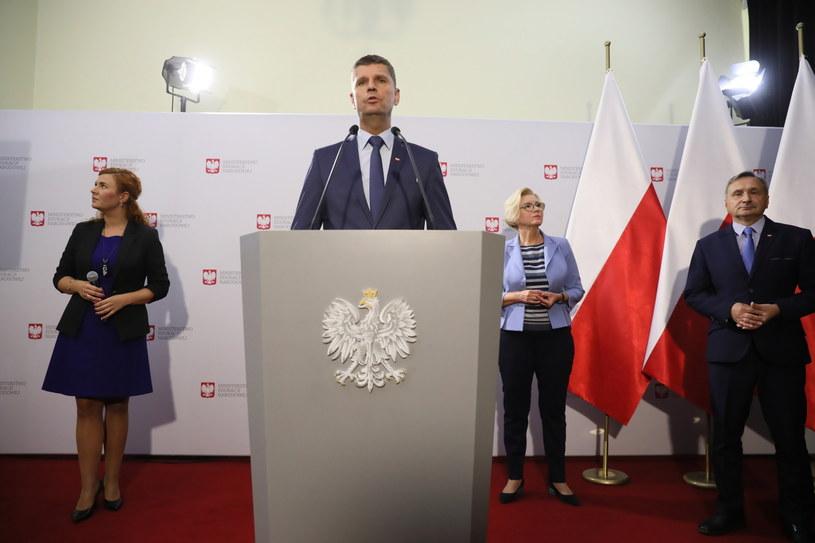 Minister edukacji narodowej Dariusz Piontkowski /Leszek Szymański /PAP