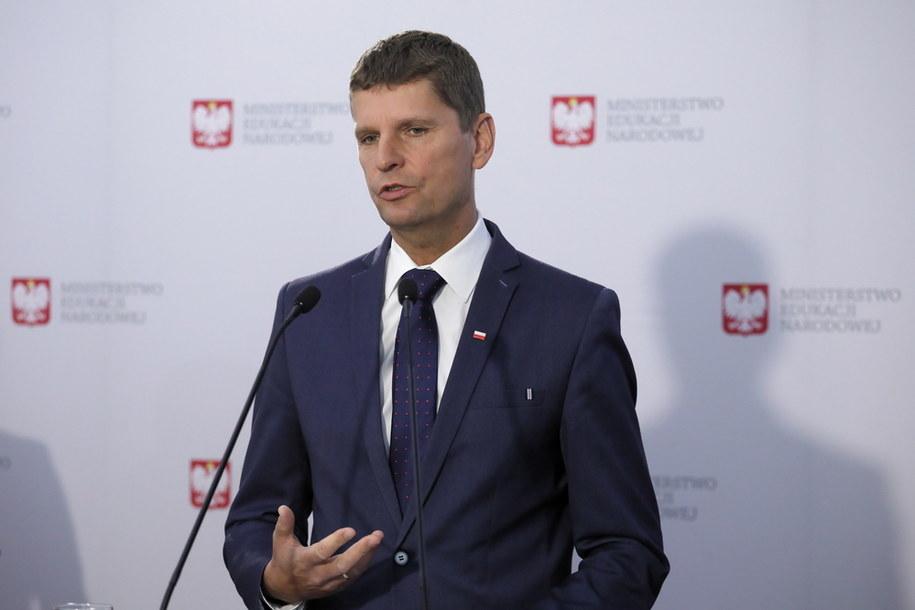 Minister edukacji narodowej Dariusz Piontkowski /Paweł Supernak /PAP