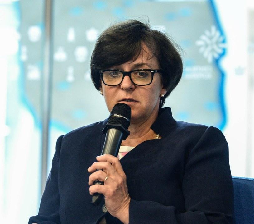 Minister edukacji narodowej Joanna Kluzik-Rostkowska /Jakub Kamiński   /PAP