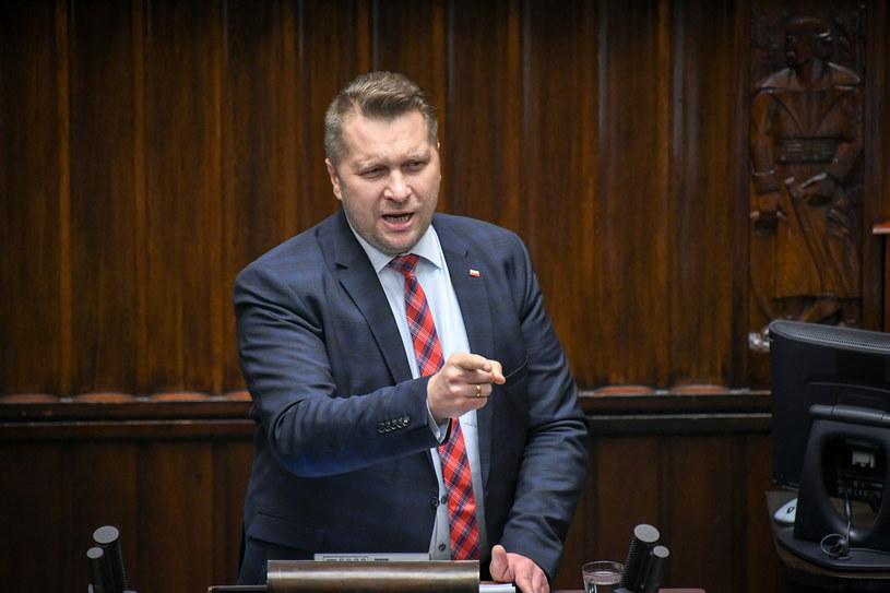 Minister edukacji Przemysław Czarnek /Jacek Dominski/REPORTER /Reporter