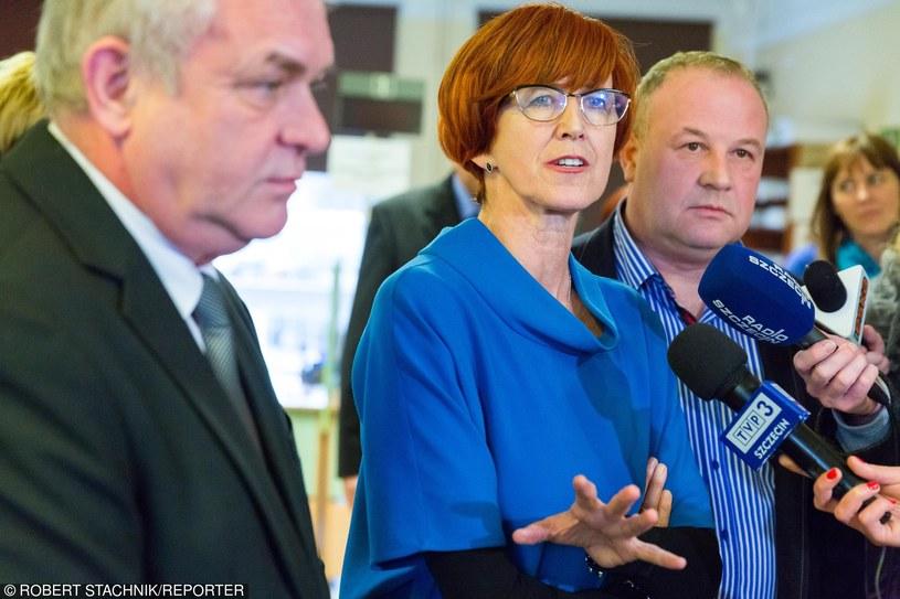 Minister Elżbieta Rafalska /ROBERT STACHNIK/REPORTER /East News