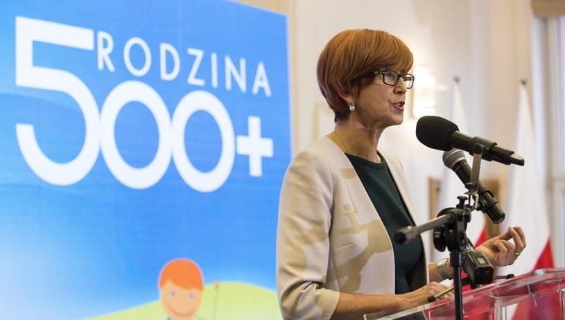 Minister Elżbieta Rafalska /Andrzej Hulimka  /East News