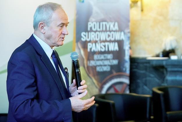 Minister energii Krzysztof Tchórzewski dzisiaj w Katowicach /PAP