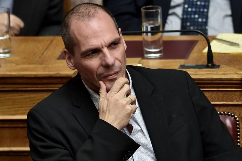 Minister finansów Grecji Janis Warufakis /AFP