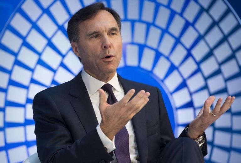 Minister finansów Kanady Bill Morneau /SAUL LOEB /AFP