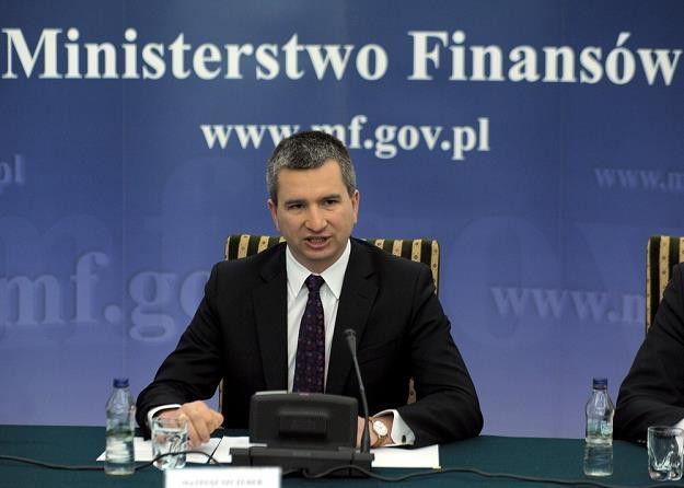 Minister finansów Mateusz Szczurek, fot. Jan Bielecki /Agencja SE/East News