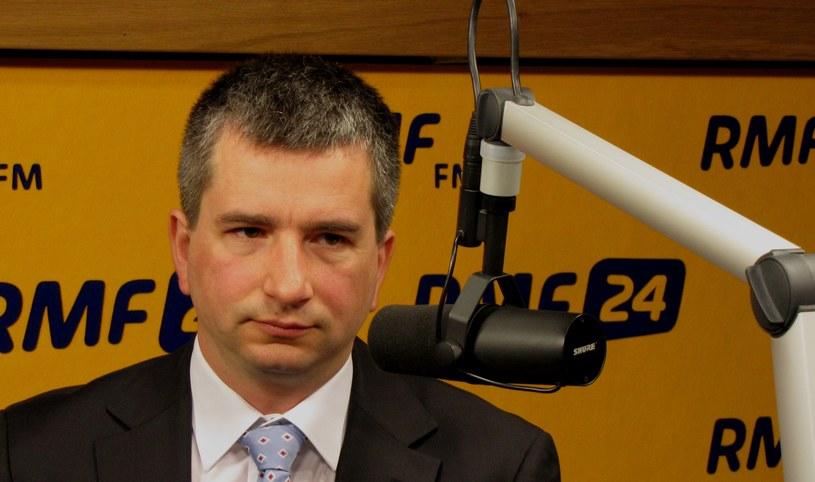 Minister finansów, Mateusz Szczurek /RMF FM