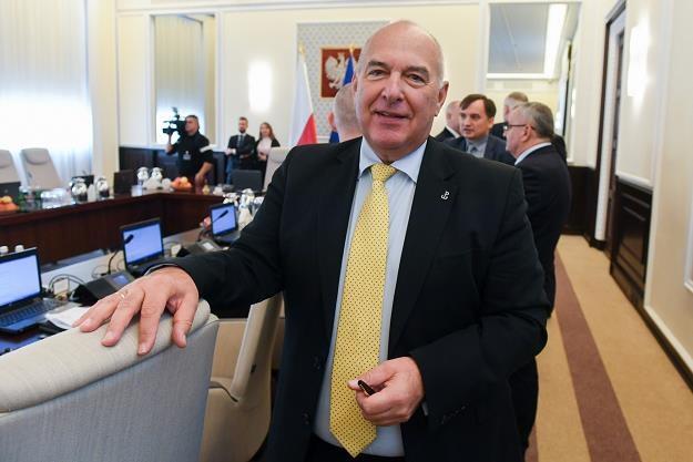 Minister finansów Tadeusz Kościński. Fot. J. Domiński /Reporter