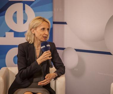 Minister finansów Teresa Czerwińska w rozmowie z Interią