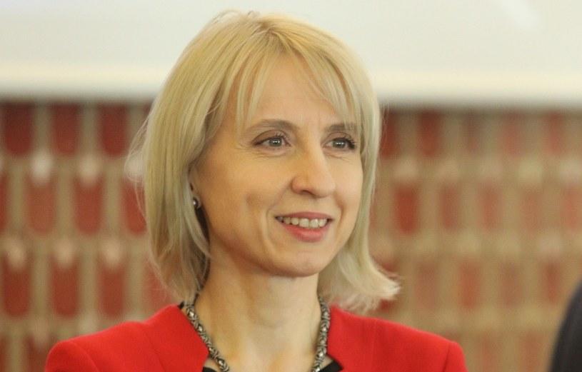 Minister finansów Teresa Czerwińska /Fot Tomasz Jastrzebowski /Reporter