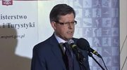Minister Giersz o specustawie Euro2012