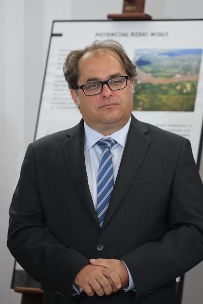 Minister gospodarki morskiej i żeglugi śródlądowej Marek Gróbarczy /PAP