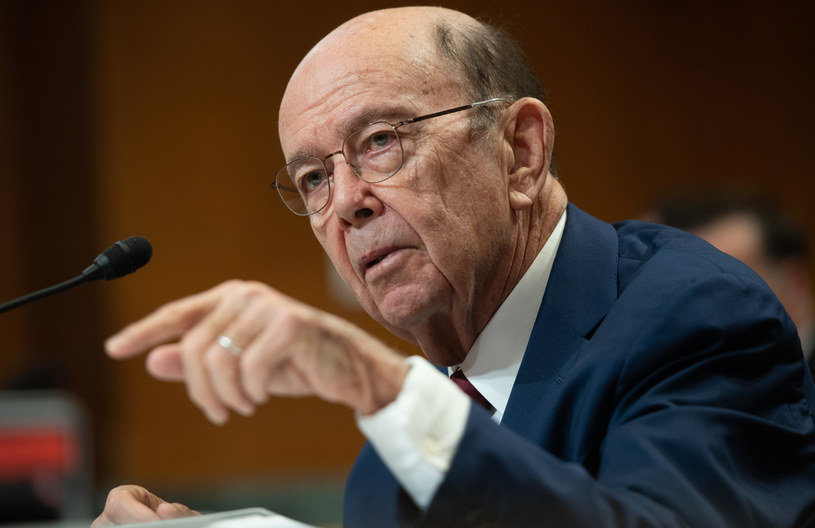 Minister handlu USA Wilbur Ross /SAUL LOEB /AFP