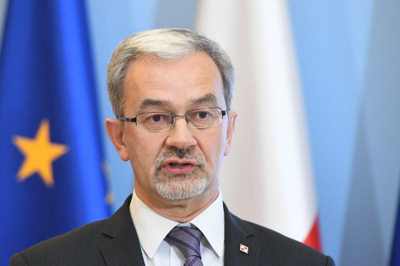 Minister inwestycji i rozwoju Jerzy Kwieciński /Rafal Oleksiewicz /Reporter
