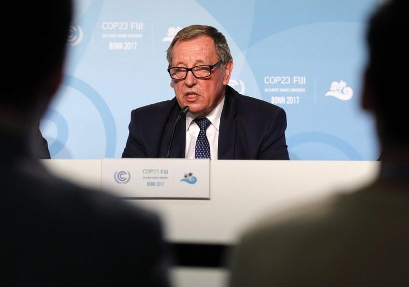 Minister Jan Szyszko /PAP/EPA