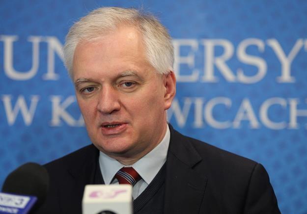 Minister Jarosław Gowin /PAP