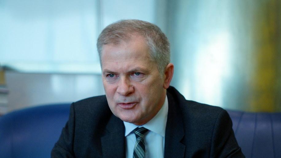 Minister kancelarii prezydenta Sławomir Rybicki /Michał Dukaczewski /RMF FM