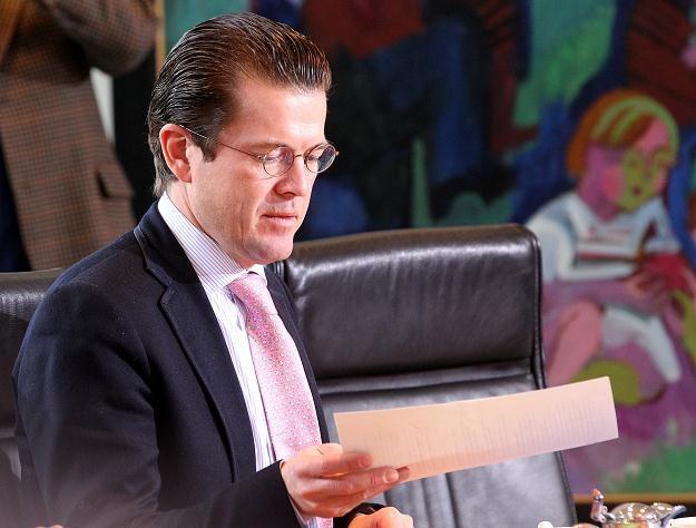 Minister Karl-Theodor zu Guttenberg /AFP