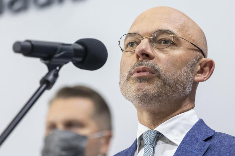 Minister klimatu i środowiska Michał Kurtyka /Andrzej Iwańczuk /Reporter