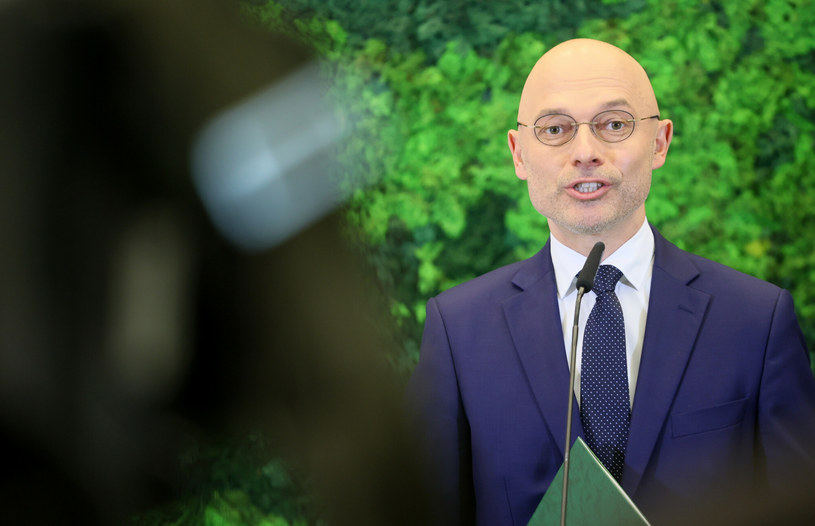 Minister klimatu i środowiska Michał Kurtyka /Pawel Wodzynski /Reporter