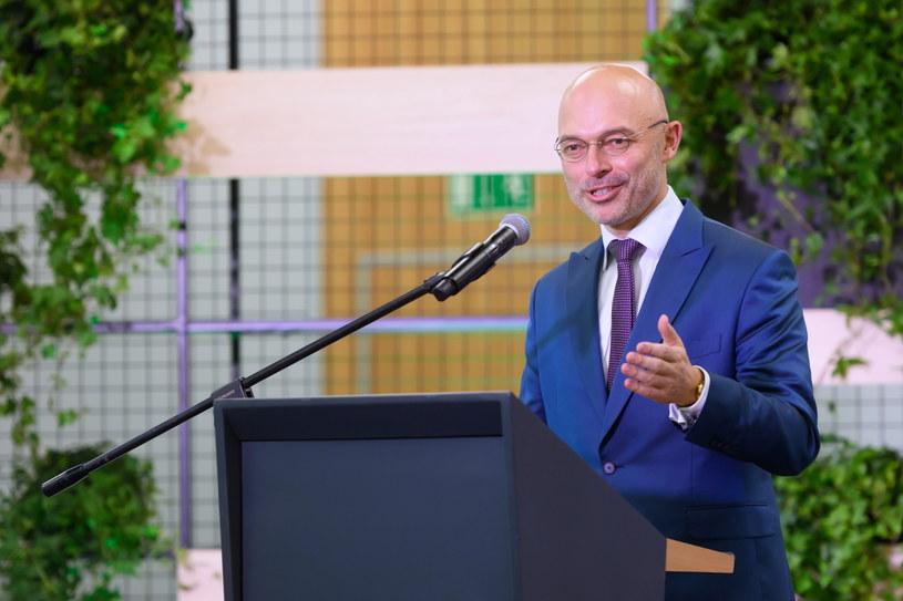 Minister klimatu i środowiska Michał Kurtyka /Jakub Kaczmarczyk   /PAP