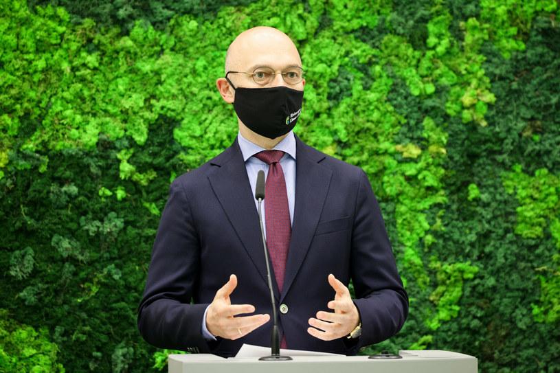 Minister klimatu Michał Kurtyka / Jacek Domiński /Reporter