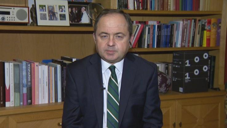 Minister Konrad Szymański /Polsat News