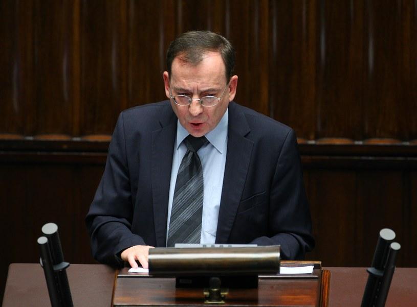Minister koordynator służb specjalnych Mariusz Kamiński /Fot. Stanislaw Kowalczuk/East News /East News