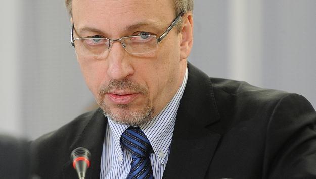 Minister kultury Bogdan Zdrojewski, fot. Andrzej Hrechorowicz /PAP