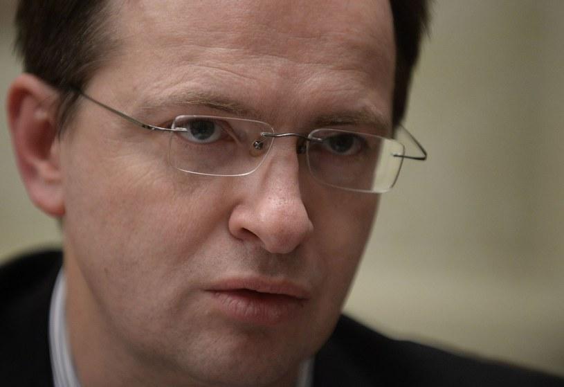 Minister kultury Federacji Rosyjskiej Władimir Medinski /AFP