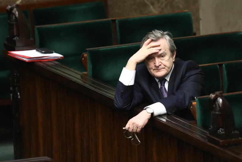 Minister kultury i wicepremier Piotr Gliński /Tomasz Jastrzębowski /Reporter
