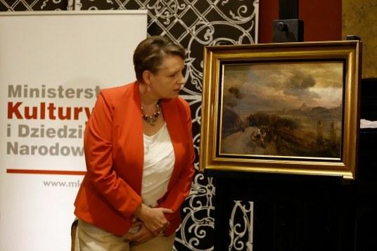 Minister kultury Małgorzata Omilanowska /Ministerstwo Kultury i Dziedzictwa Narodowego