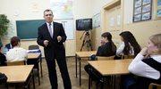 Minister Kwiatkowski poprowadził lekcję z podstaw prawa