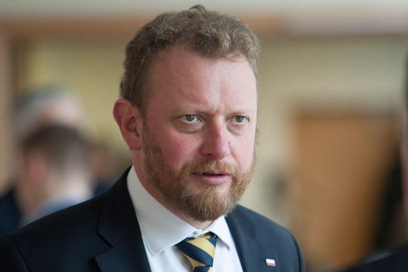 Minister Łukasz Szumowski /Tomasz Jastrzebowski/REPORTER /East News