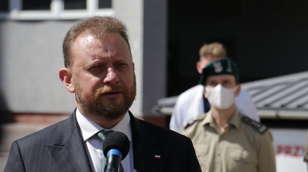Minister Łukasz Szumowski /Jakub Rutka /RMF FM
