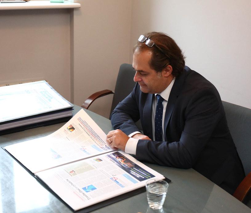 Minister Marek Gróbarczyk /East News /East News