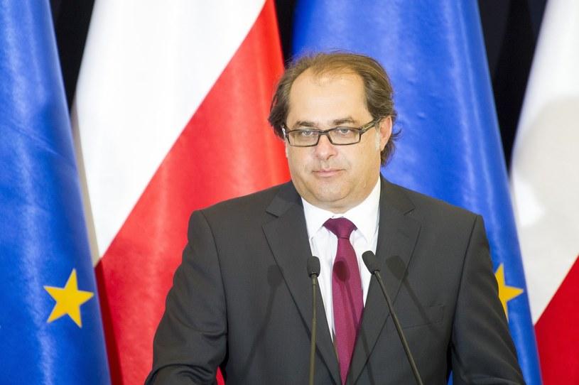 Minister Marek Gróbarczyk /Fot. Wojciech Strozyk /Reporter