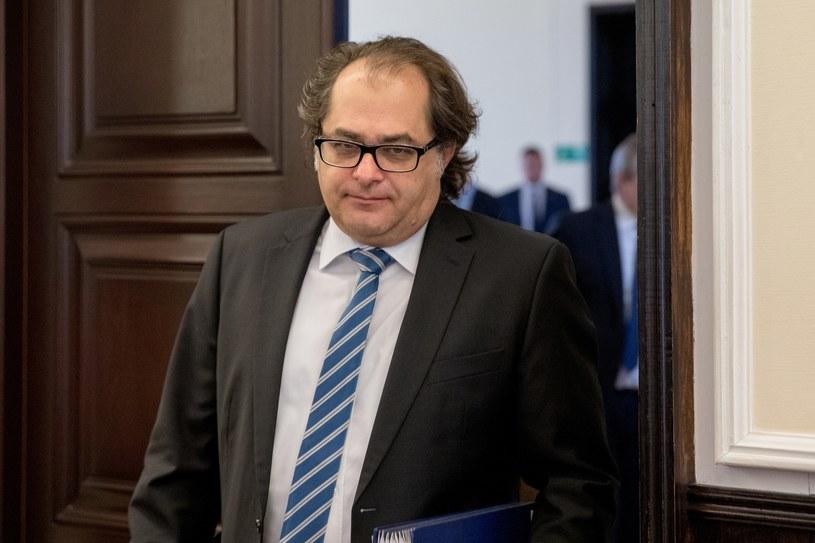 Minister Marek Gróbarczyk /Andrzej Iwańczuk /Reporter